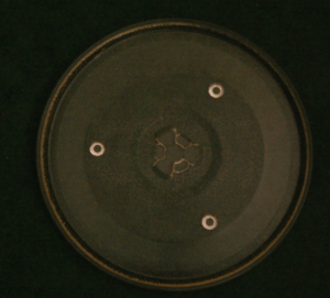 MICROWAVE TURN TABLE GLASS DIAMETER 10.5 INCHES