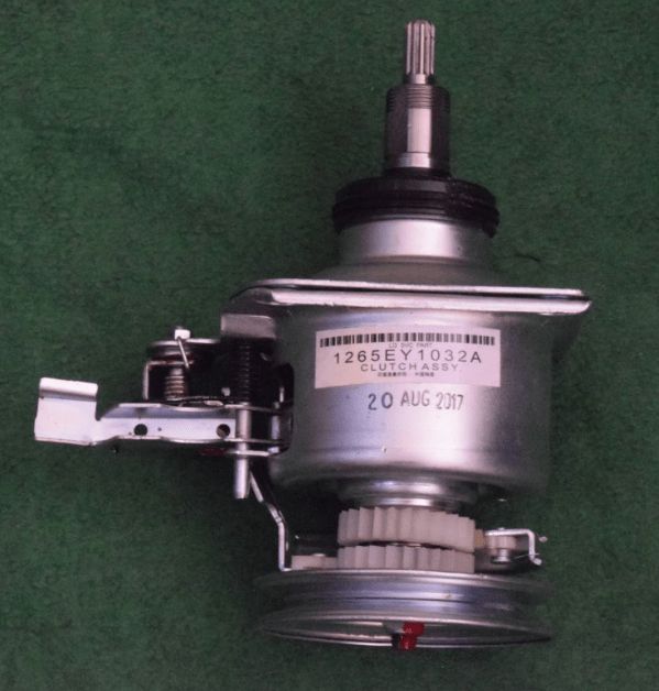 CLUTCH ASSEMBLY (SUITABLE FOR Panasonic , L.G.) Round Shaft  Double Clutch