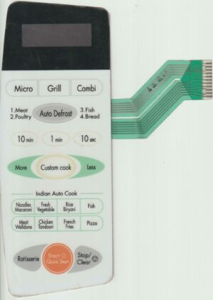 Microwave Oven Membrane Keypad suitable for LG