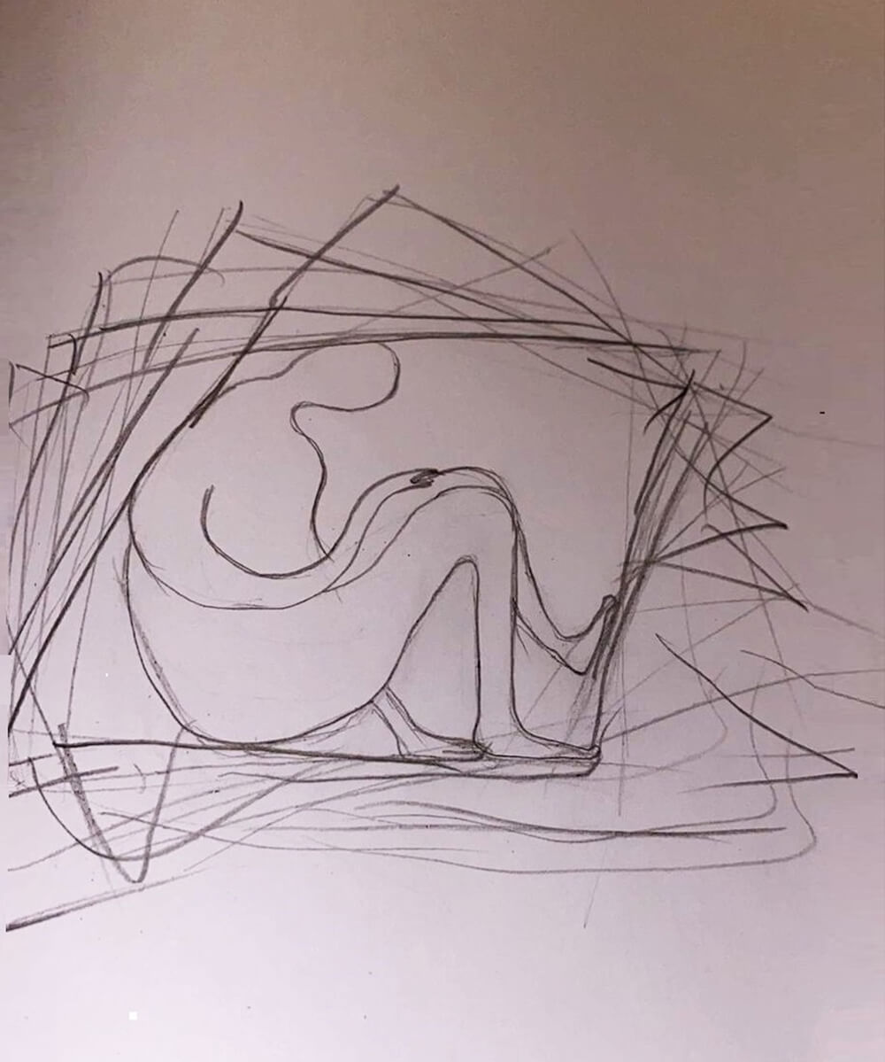 08: Images of Entrapment, drawings by a young, asylum seeking mother
