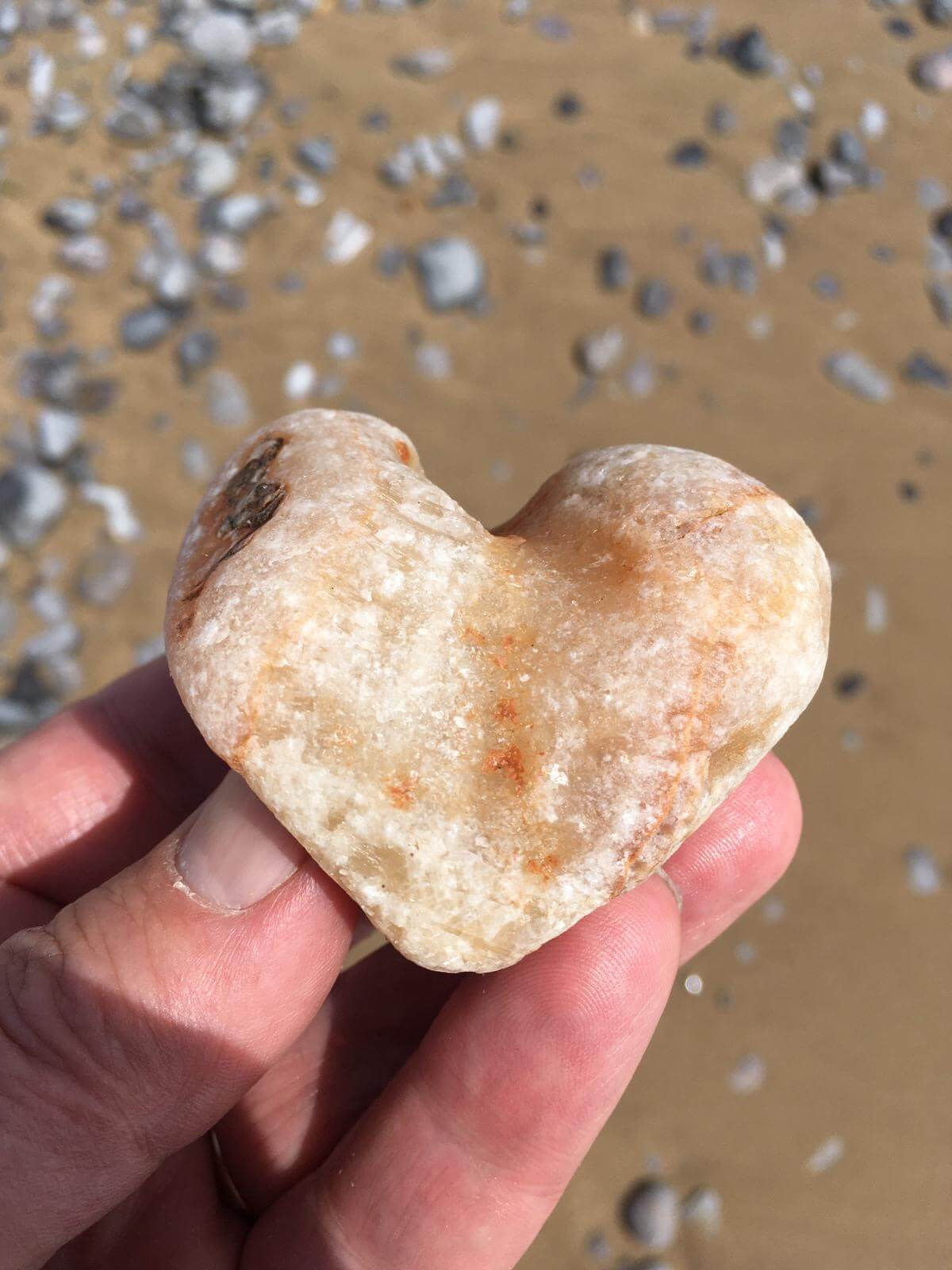 07: A stone found while walking on the beach in Swansea