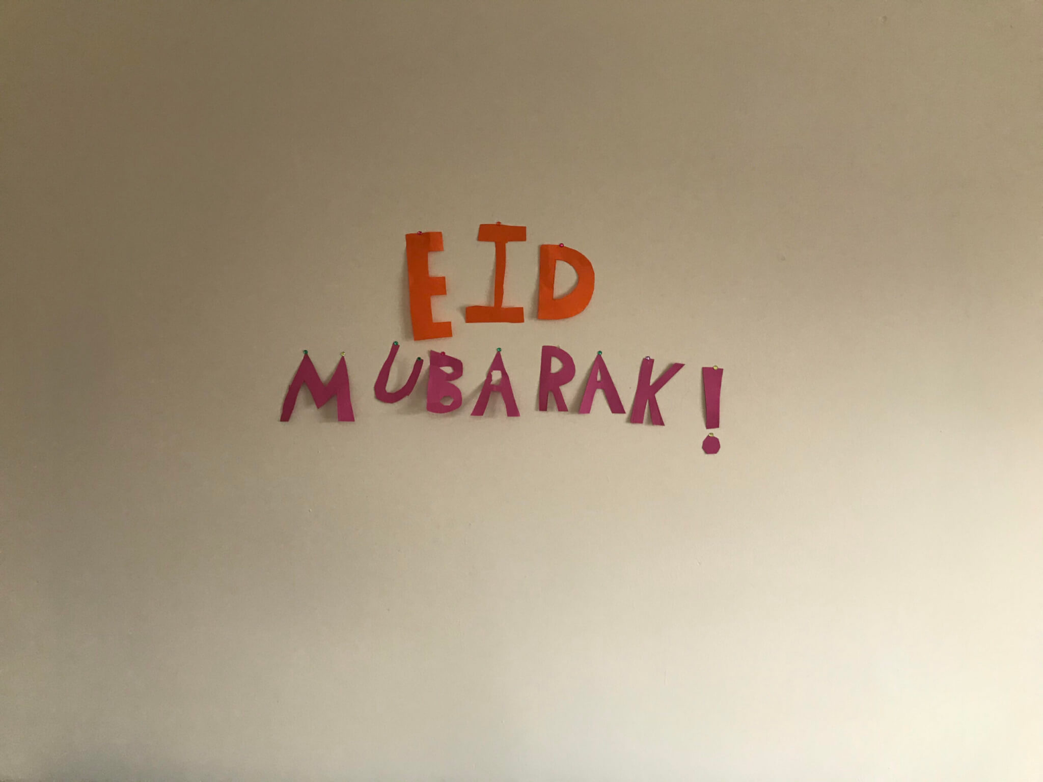 01: A Syrian refugee family describes their experience of Eid during lockdown.