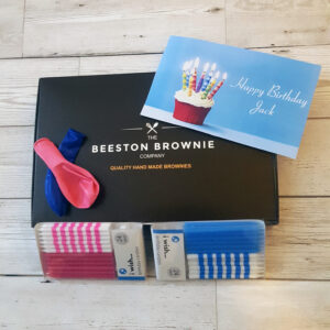 Birthday Brownie Box