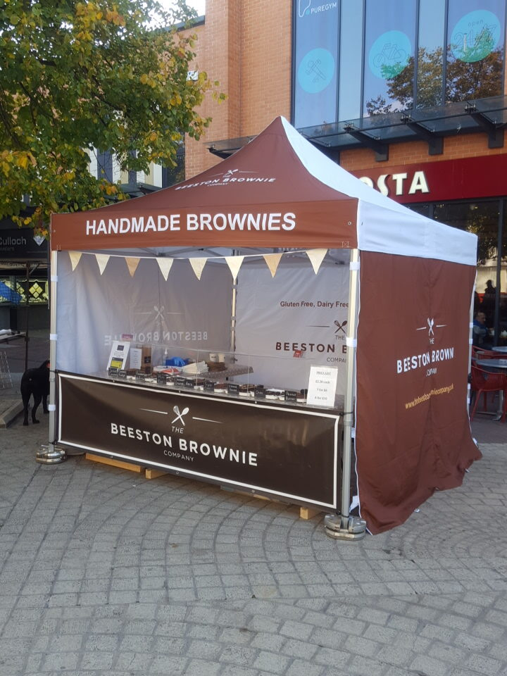 Beeston Brownie Market Stall