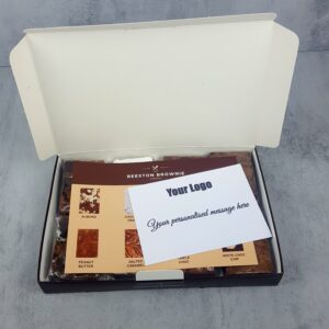 Corporate Brownie Box