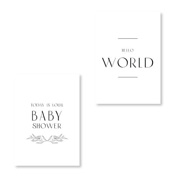 Pregnancy Milestone Cards 2
