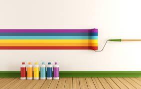 Enamel Paint on walls