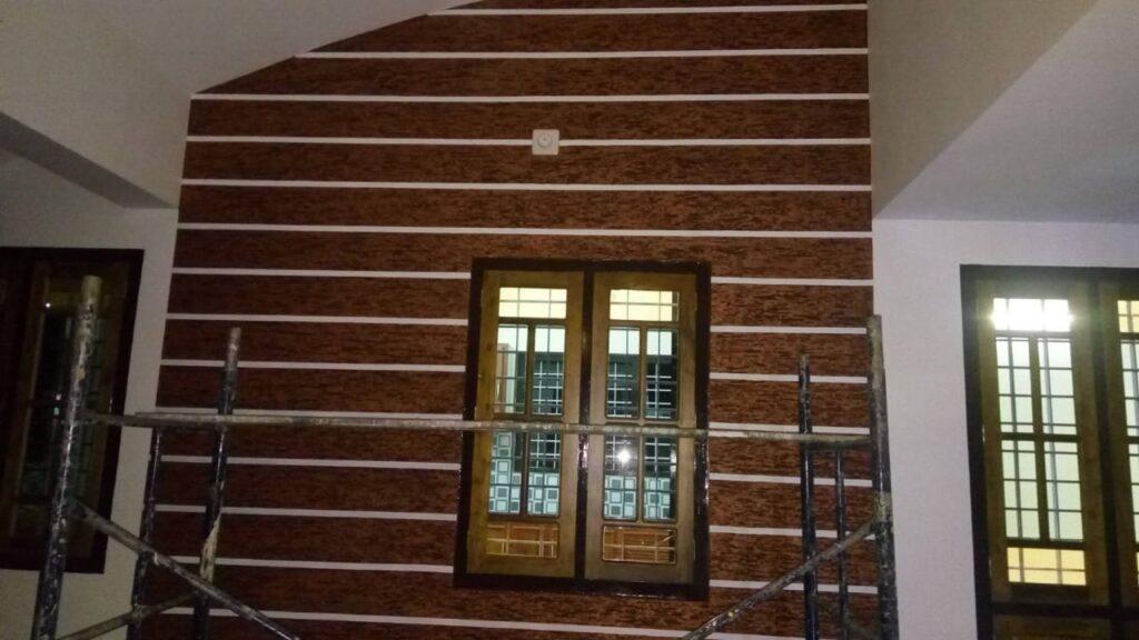 Textured wall 5