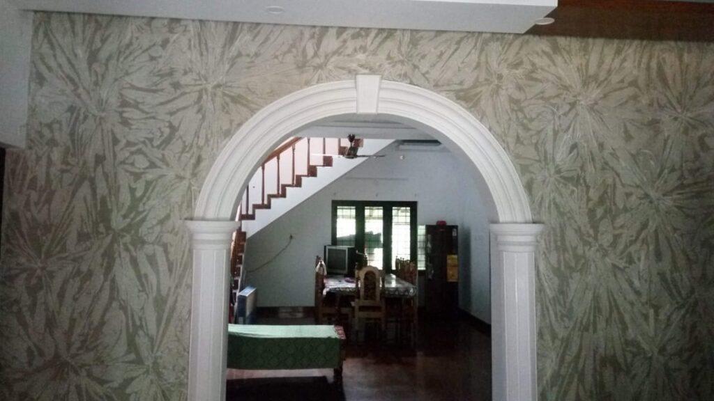 Textured wall 6