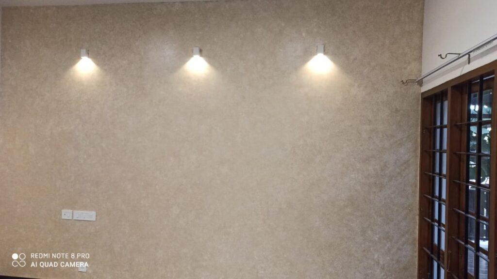 Textured wall 12