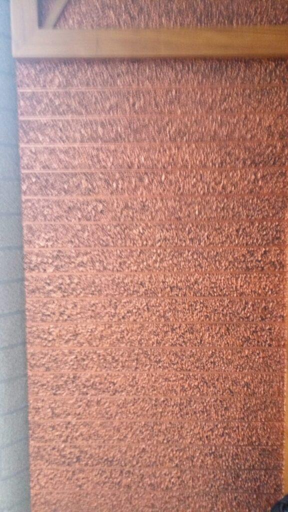 Exterior textured wall pattern