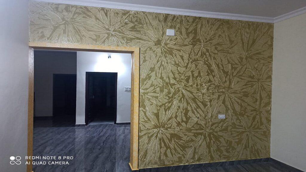 Textured wall 15