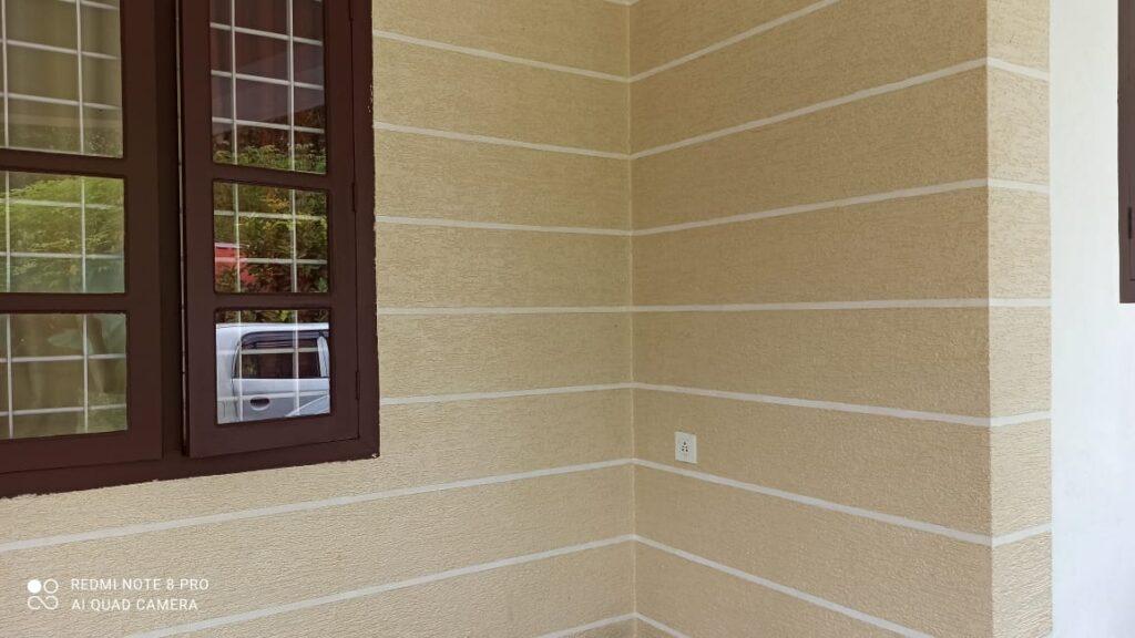 Textured wall 16