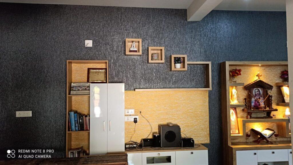 Textured wall 24