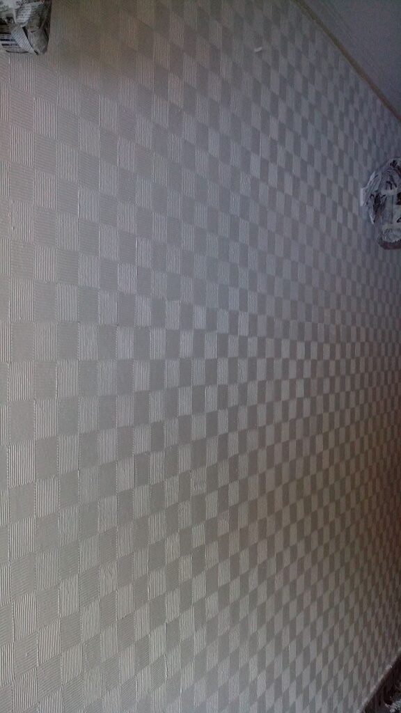 Textured wall square pattern