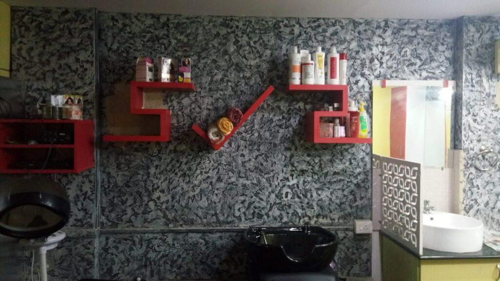 Textured wall 27