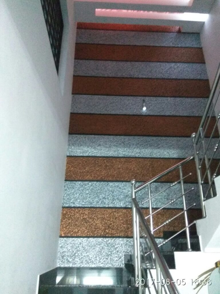 Textured Wall Staircase