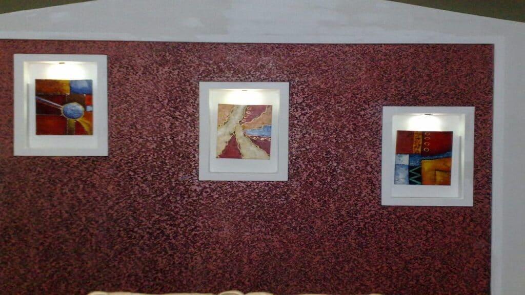 Textured wall 32