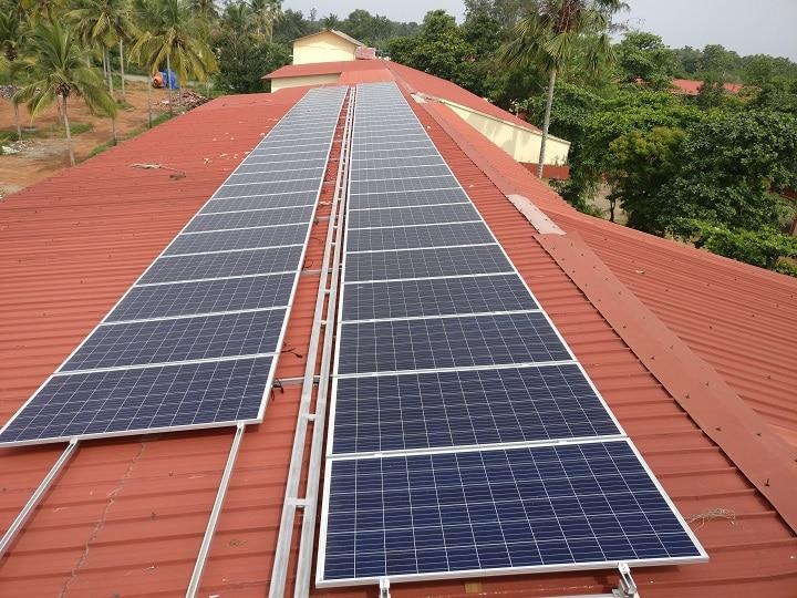 Solar Panels over sheet roof