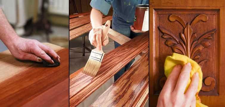Wood polishing