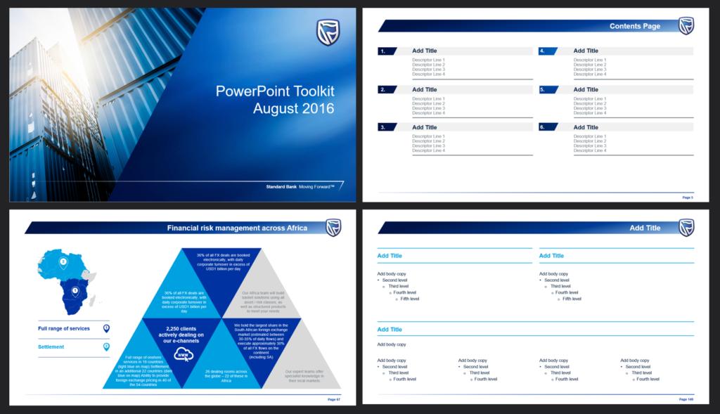 PowerPoint template design specialist