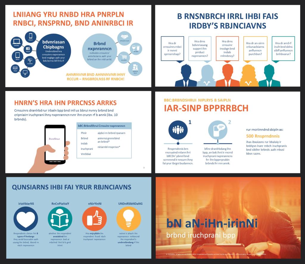 PowerPoint design company sample