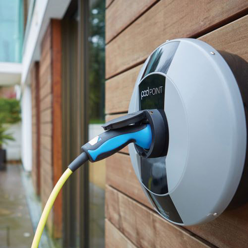EV Wall Charge Point