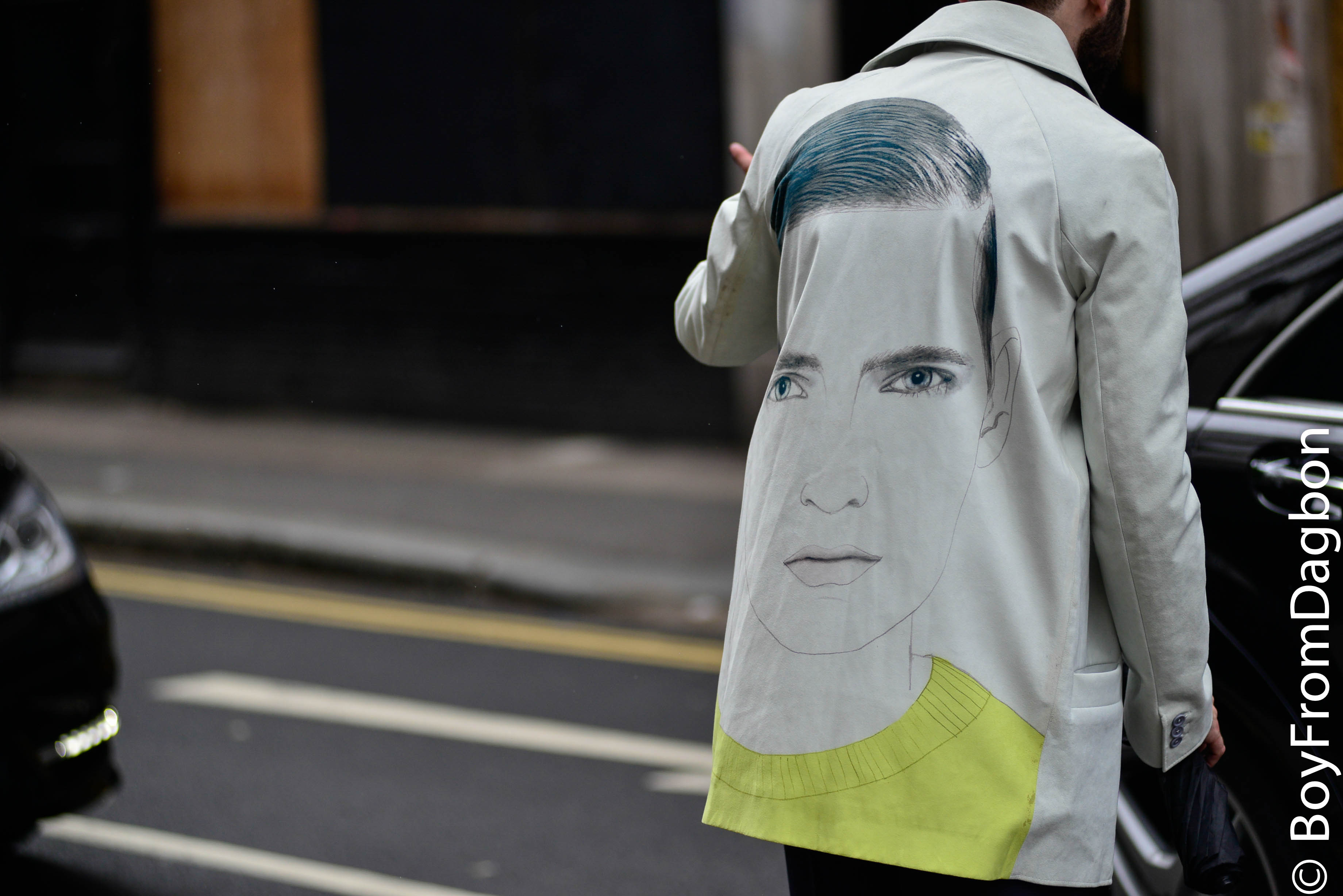 Jacket with Painting