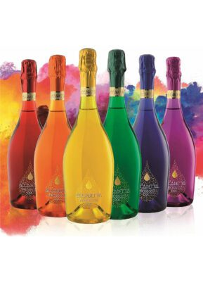 Accademia Prosecco   6 x 75cl   Rainbow   KeiCo Drinks