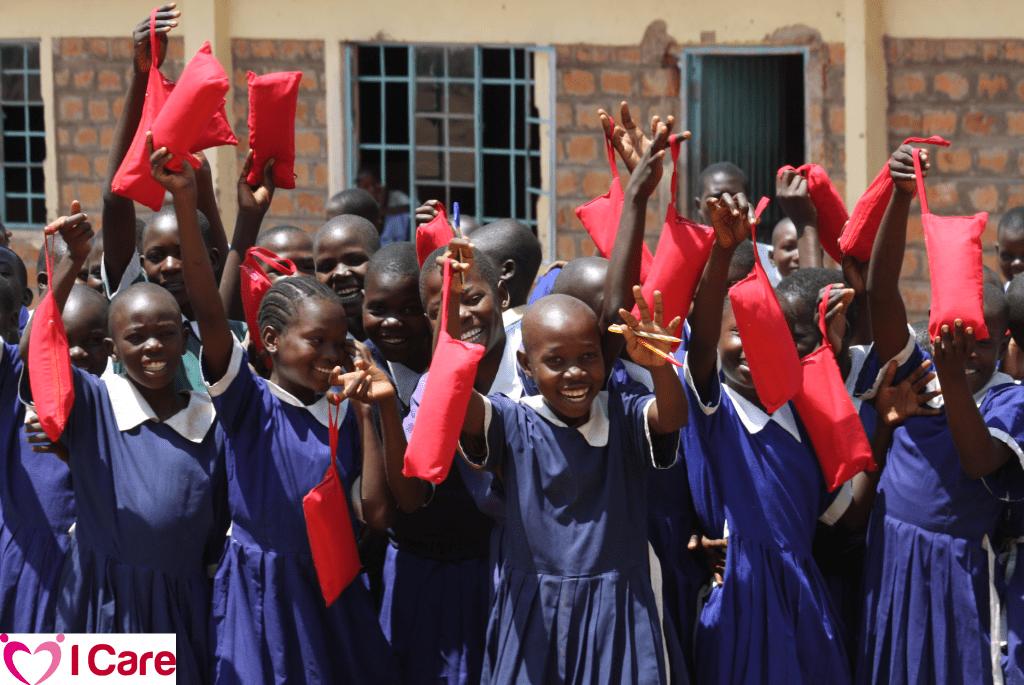 I Care | menstrual hygiene management in East Africa.