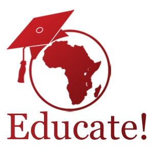Educate!, a Vera Solutions client whom we've helped manage their data and programs.