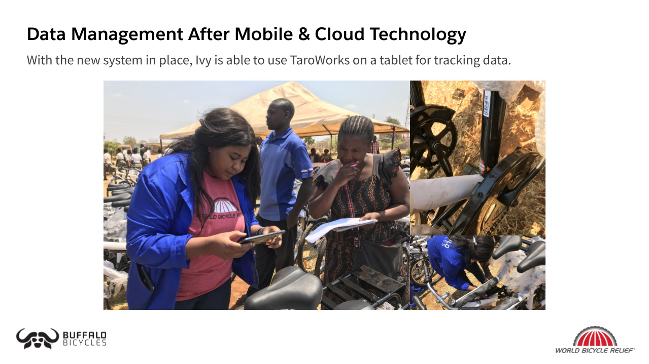 World Bicycle Relief   Mobile Monitoring & Evaluation System