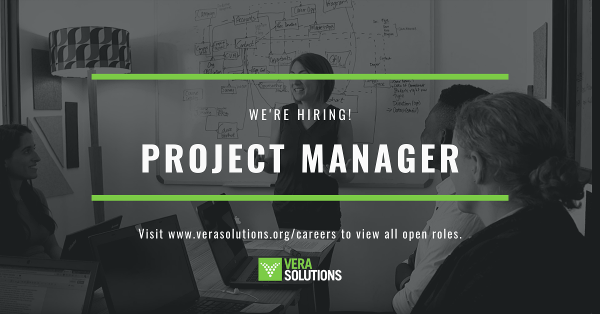 Project Manager DC   Vera Solutions