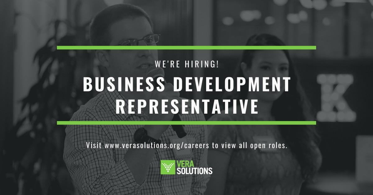 Business Development Representative | Vera Solutions