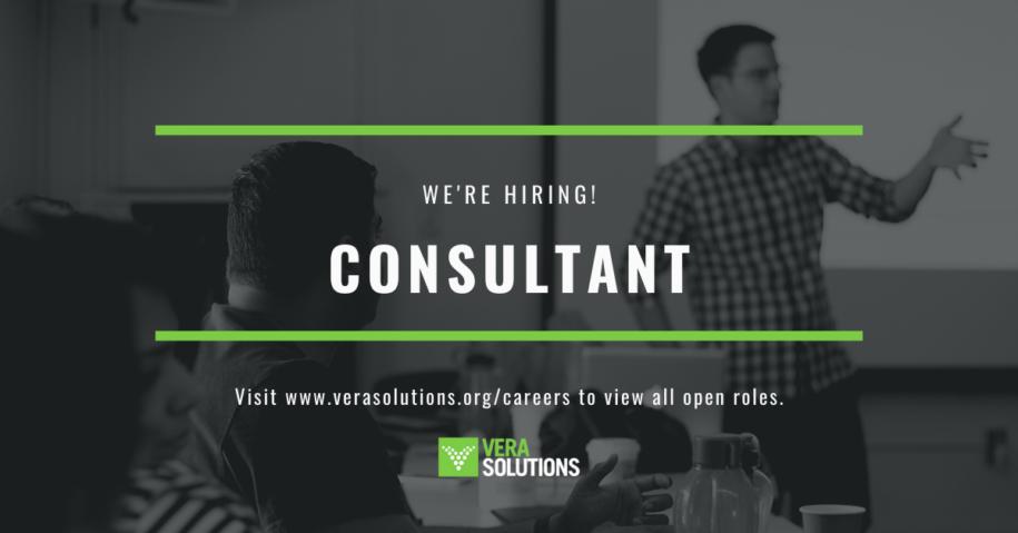 Consultant | Vera Solutions