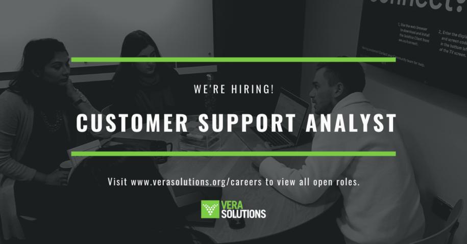 Customer Support Analyst