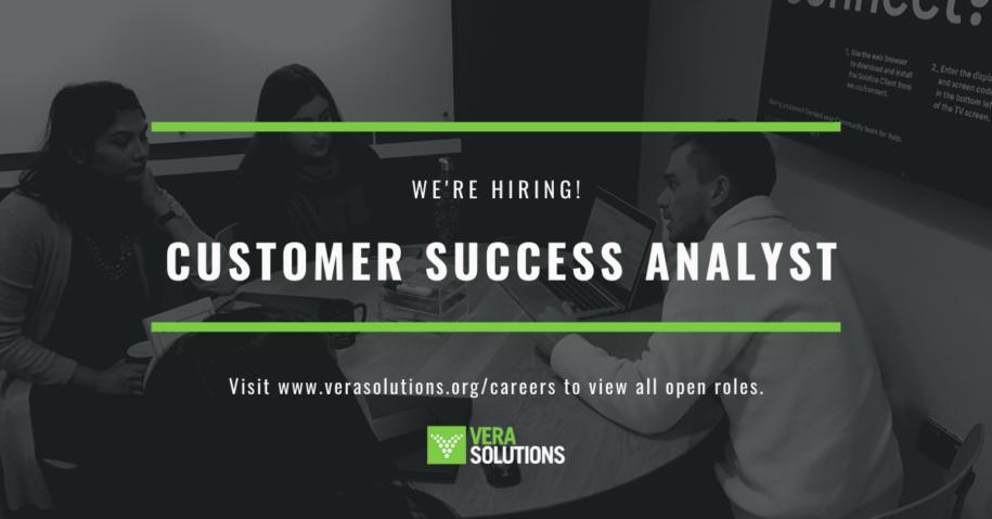 Customer Success Analyst | Vera Solutions