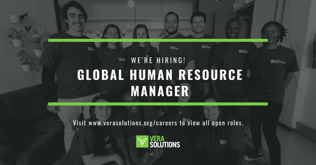 Global Human Resource Manager   Vera Solutions