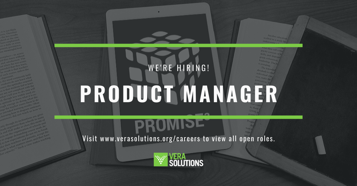 Product Manager PROMISE³   Vera Solutions
