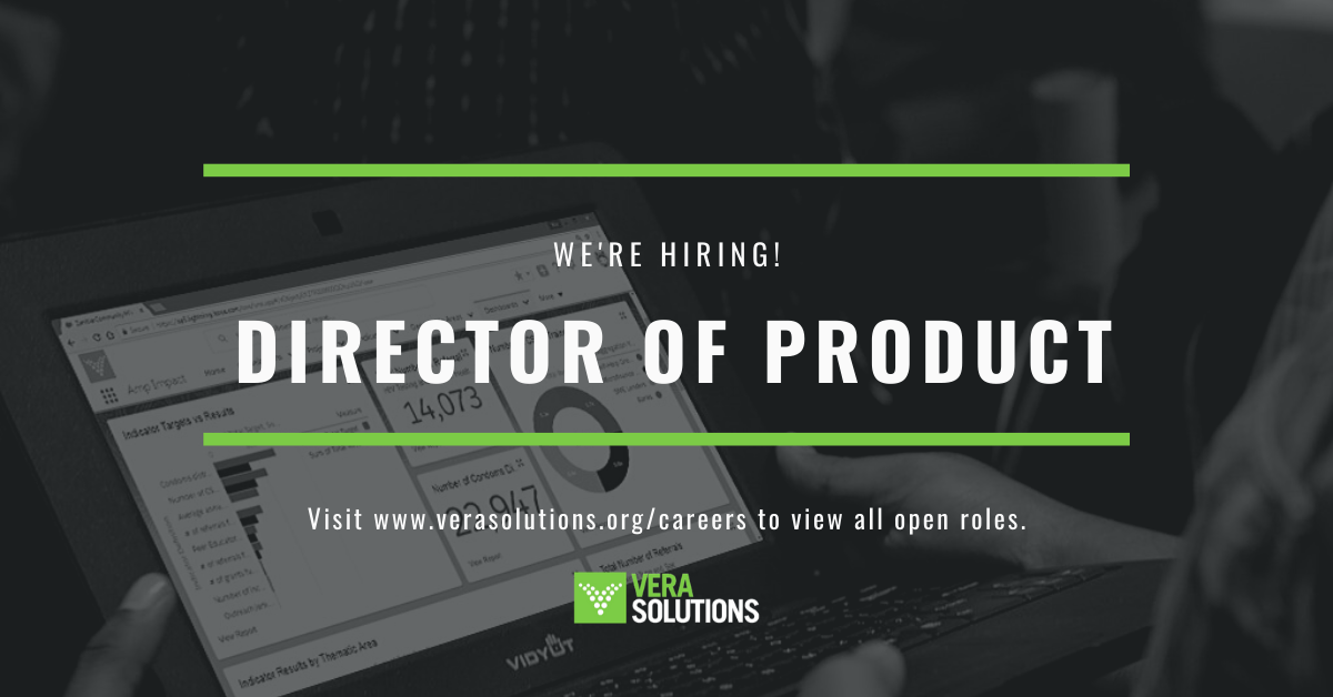 Director of Product   Vera Solutions