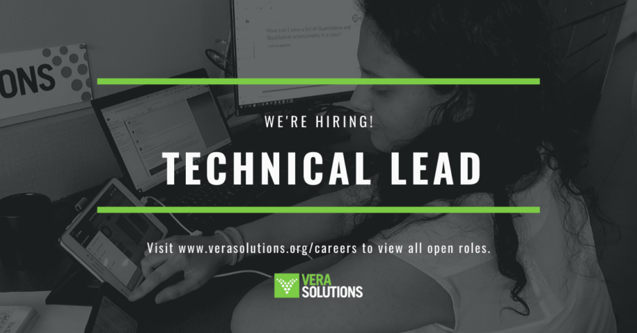 Technical Lead | Vera Solutions