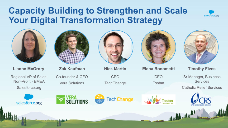 Webinar: Capacity Building to Strengthen and Scale Your Digital Transformation Strategy