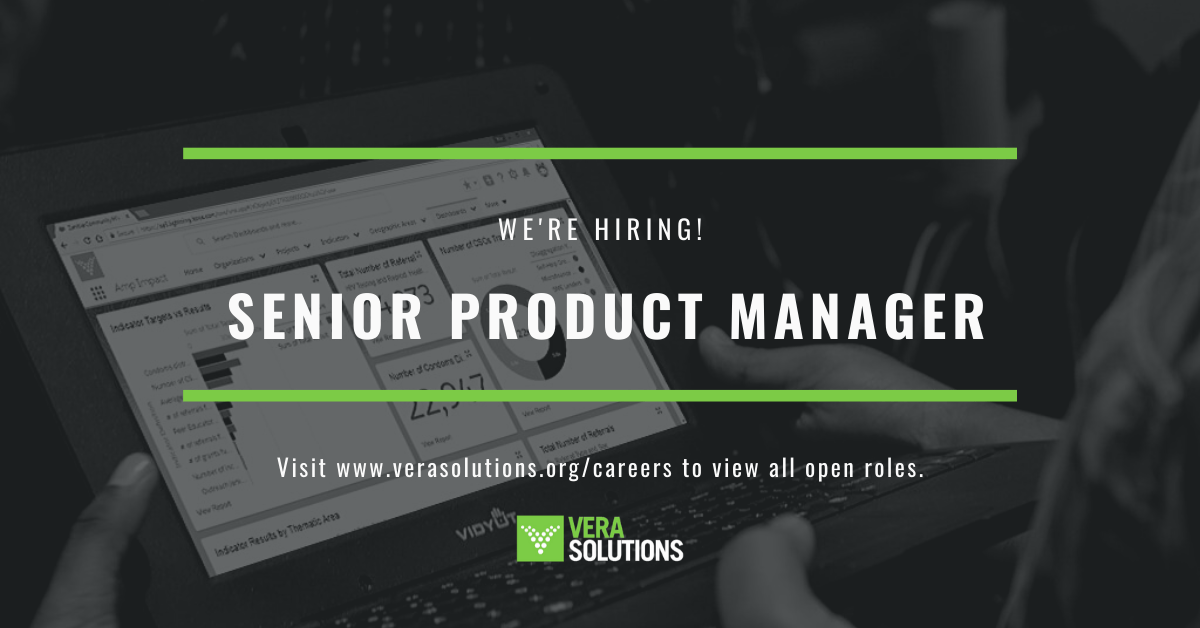 Senior Product Manager | Vera Solutions