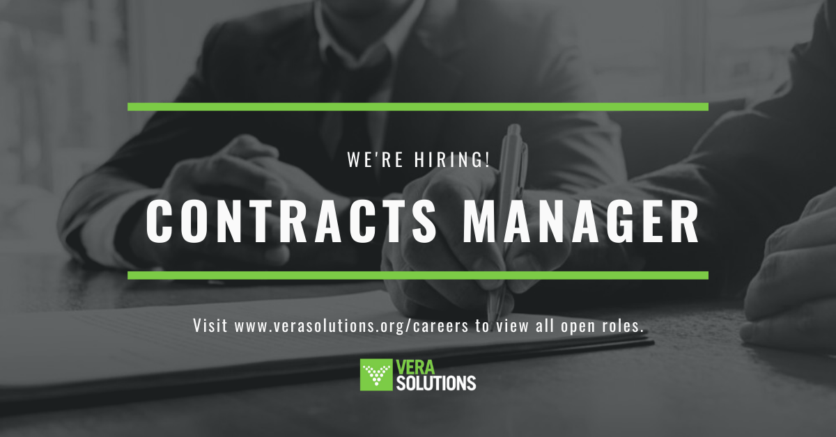 Contracts Manager | Vera Solutions