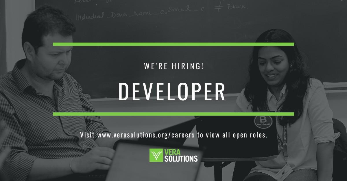 Developer | Vera Solutions