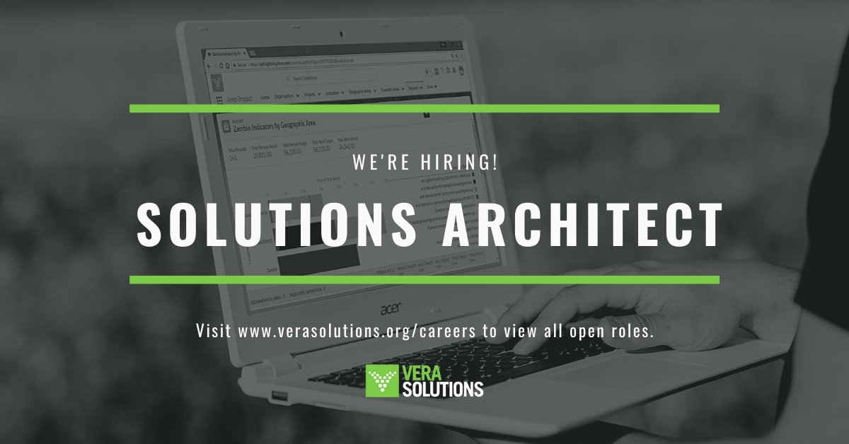 Solutions Architect | Vera Solutions