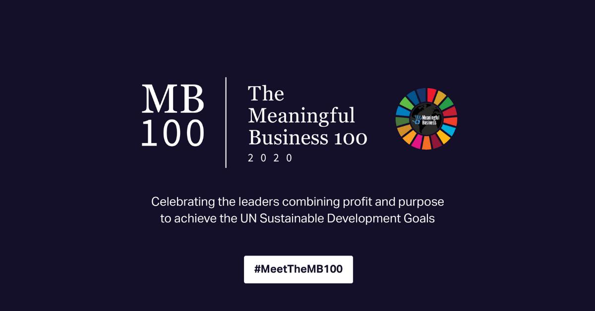 Meaningful Business 100 Winners