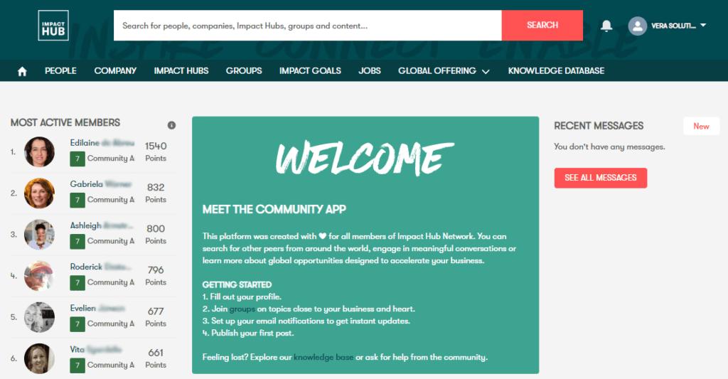 Impact Hub Salesforce Community   Vera Solutions
