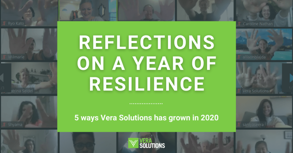 Reflections on a year of resilience: 5 ways Vera Solutions has grown in 2020