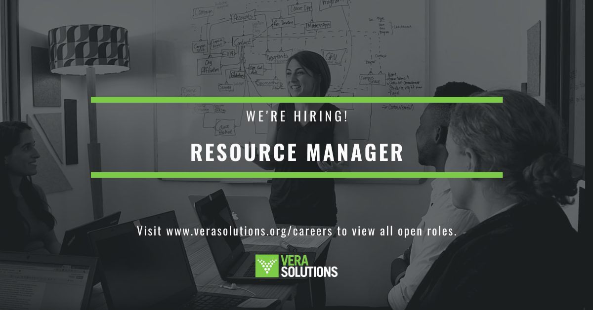 Resource Manager   Vera Solutions Jobs